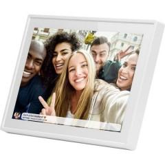 Braun Germany DigiFrame 1019 WiFi weiss Cornice digitale 25.7 cm 10.1 pollici 1280 x 800 Pixel 16 GB Bianco