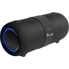 Music Man BT-X56 Altoparlante Bluetooth Protetto dagli spruzzi dacqua, USB, AUX Nero