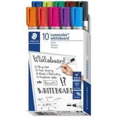 Staedtler Lumocolor® whiteboard marker 351 Marcatore per lavagna bianca Rosso, Arancione, Viola, Blu, Verde,