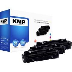 KMP H-T242XCMY Toner Imballo multiplo sostituisce HP HP 410X (CF411X, CF413X, CF412X) Ciano, magenta, giallo 5000 pagine