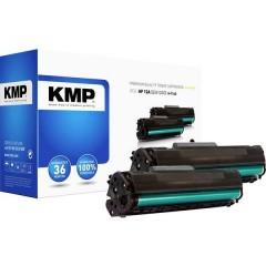 KMP H-T114D Toner Conf 2 pz sostituisce Canon, HP HP 12A (Q2612A) Nero Compatibile Toner conf. 2 Pz.