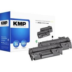 KMP H-T235D Toner Conf 2 pz sostituisce HP HP 05A (CE505A) Nero Compatibile Toner conf. 2 Pz.