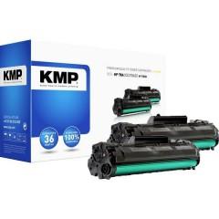 KMP H-T152D Toner Conf 2 pz sostituisce HP HP 78A (CE278A) Nero Compatibile Toner conf. 2 Pz.