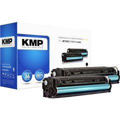 KMP H-T189DX Toner Conf 2 pz sostituisce HP HP 410X (CF410X) Nero Compatibile Toner conf. 2 Pz.