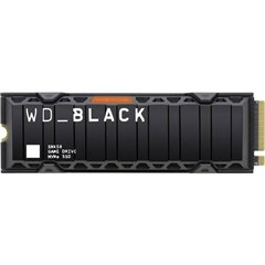 WD Black™ SN850 Heatsink 500 GB SSD interno NVMe/PCIe M.2 M.2 NVMe PCIe 4.0 x4 Dettaglio S500G1XHE