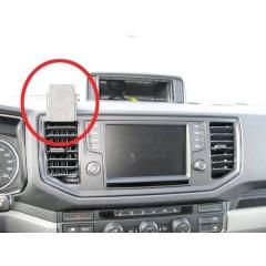 Brodit ProClip VW Crafter (Bj. 17-21) / MAN TGE (Bj. 19-21) Griglia di ventilazione Supporto cellulare per auto