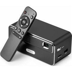 Technaxx Videoproiettore TX-138 DLP Luminosità: 300 lm 3000 : 1 Nero