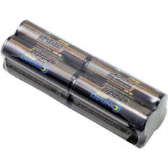 Conrad energy Batteria ricaricabile per trasmettitore NiMh 9.6 V 2300 mAh Blocco Con terminali a saldare