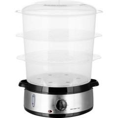 EMERIO Vaporiera Senza BPA, Funzione timer Acciaio