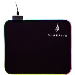 Surefire Gaming Silent Flight RGB-320 Gaming mouse pad Illuminato Nero (L x A x P) 320 x 3 x 260 mm