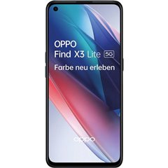 OPPO Find X3 lite Smartphone LTE dual SIM 128 GB 6.4 pollici (16.3 cm) Dual-SIM Android™ 11 Nero