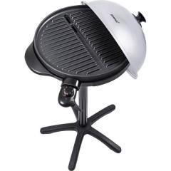 Steba Germany VG 250 Verticale Grill elettrico Zona barbecue (diametro)=400 mm Nero, Argento
