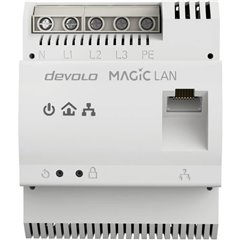 Devolo Magic 2 Adattatore guida DIN Powerline 2.4 GBit/s