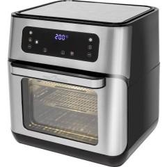 Profi Cook PC-FR 1200 H Friggitrice ad aria calda Nero/acciaio inox