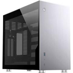 Jonsbo Mini-Tower PC Case da gioco, Contenitore Argento