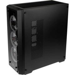 Raijintek Midi-Tower PC Case da gioco, Contenitore Nero