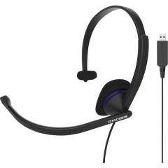 KOSS CS195 Cuffia Headset per PC USB Filo Cuffia On Ear Nero