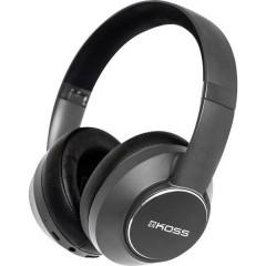 KOSS BT740iQZ Bluetooth, via cavo HiFi On Ear cuffia auricolare Cuffia On Ear Cancellazione del rumore, headset con