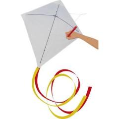 Günther Flugspiele Monofilo Aquilone statico Paint il vostro kite Larghezza estensione 690 mm