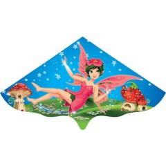 Günther Flugspiele Monofilo Aquilone statico Magic Fairy Larghezza estensione 1150 mm Intensità del vento 4 - 6 bft