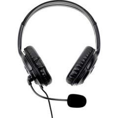 Innovation IT 7531595-IIT Cuffia Headset per PC USB Filo, Stereo Cuffia On Ear Nero