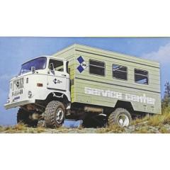 Schuco Scala 1 IFA IFA W50 Koffer-LKW Service