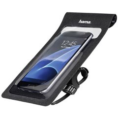 Hama Slim Custodia smartphone per bicicletta Adatto per: Universale Larghezza (max.): 80 mm
