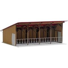 Busch Moderno edificio aperto H0