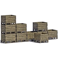 Busch Kit cassette da raccolta H0 da 10 pz Kit da montare