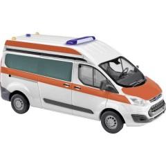 Busch H0 Ford Struttura stroboscopica per ambulanze Transit Custom High-Dach