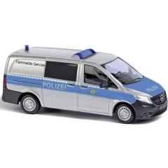 Busch H0 Mercedes Benz Servizio di telecomunicazioni a distanza di Trapani Police Berlin