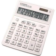 Citizen SDC-444X Calcolatrice da tavolo Bianco Display (cifre): 12 a batteria, a energia solare (L x A x P) 155 x 206 x