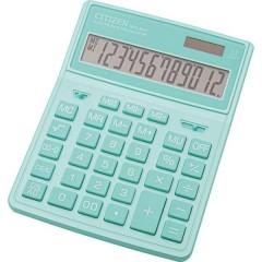 Citizen SDC-444X Calcolatrice da tavolo Turchese Display (cifre): 12 a batteria, a energia solare (L x A x P) 155 x 206