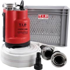 T.I.P. Hochwasser-Set I-Compac 13000 Pompa di drenaggio ad immersione 13000 l/h 9 m