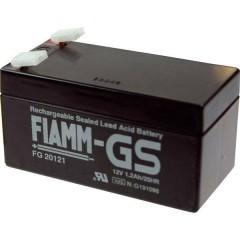 Fiamm Pb-12-1,2-4,8 Batteria al piombo 12 V 1.2 Ah Piombo-AGM (L x A x P) 97 x 57 x 48 mm Spina piatta 4,8 mm
