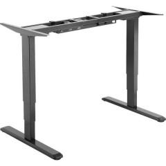 Digitus Telaio del tavolo per lavoro in piedi o seduti (L x A x P) 1000 x 700 x 620 cm Nero