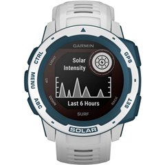 Garmin Instinct Solar Surf Smartwatch 45 mm Argento/Antracite