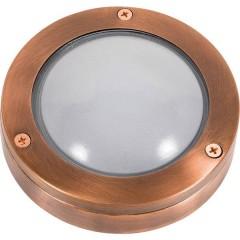 Lichterlebnisse 438 G9 CLEAROPPER Lampada da parete per esterno G9 Rame, Trasparente, Trasparente