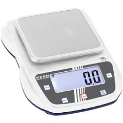Kern Bilancia di precisione Portata max. 3 kg Risoluzione 0.1 g a batteria, via alimentatore a spina