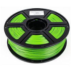 Maertz Budget ABS Grün 1,75 mm 1 KG Filamento per stampante 3D Plastica ABS 1.75 mm 1000 g Verde 1000 g