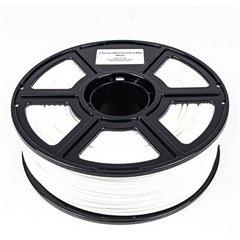 Maertz Budget ABS Weiß 1,75 mm 1 KG Filamento per stampante 3D Plastica ABS 1.75 mm 1000 g Bianco 1000 g