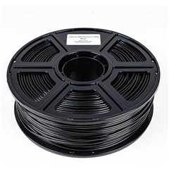 Maertz Budget ABS SW 1,75 mm 1 KG Filamento per stampante 3D Plastica ABS 1.75 mm 1000 g Nero 1000 g
