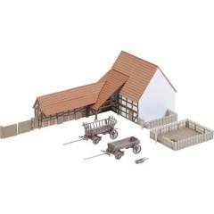 Faller N Edificio agricolo con accessori Kit da montare