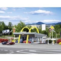 Vollmer N Fast-food McDonalds´s con McDrive Kit da montare