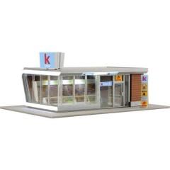 Kibri Chiosco moderno con illuminazione a LED H0