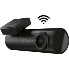 TrueCam H7 Dashcam con GPS WLAN, Avvio automatico, WDR, GPS con rilevamento radar, Time lapse, G-Sensor, Registrazione